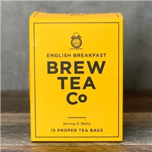 Brew Tea Co English Breakfast 15 Bags