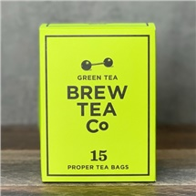 Brew Tea Co Green Tea 15 Bags