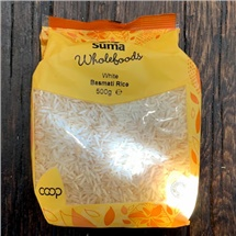 Suma White Basmati Rice 500g