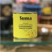 Suma Organic Supersweet Sweetcorn 340g