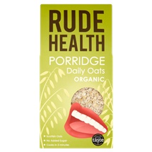 Rude Health Organic Porridge Daily Oats 500g