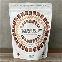 Great British Porridge Co Chocolate 385g