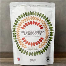 Great British Porridge Co Berry & Pumpkin Seed 385g