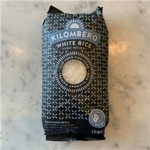 Kilombero Long Grain White Rice 1kg