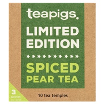 Teapigs Limited Edition Spiced Pear Tea Temples 10 x 2.5g (25g)