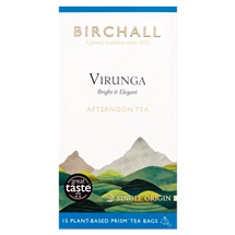Birchall Virunga Afternoon Tea 15 Prism Tea Bags 46.9g